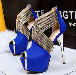 Women's Glamour Fashion High Heels Shoes