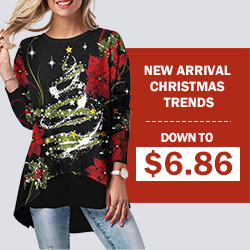 Christmas is coming!There are many fashionable and great discount items for this festival! Welcome to have a look and buy!