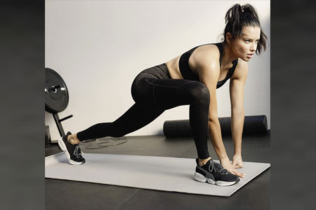 PUMA By Adriana Lima - International Supermodel Adriana Lima wears MODE XT