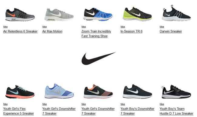 Nike Shoes Shopping